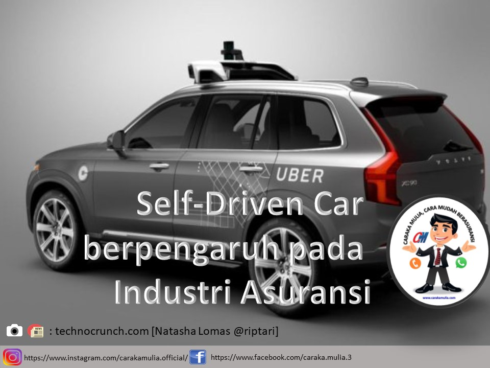Self-Driven Car berpengaruh pada Industri Asuransi