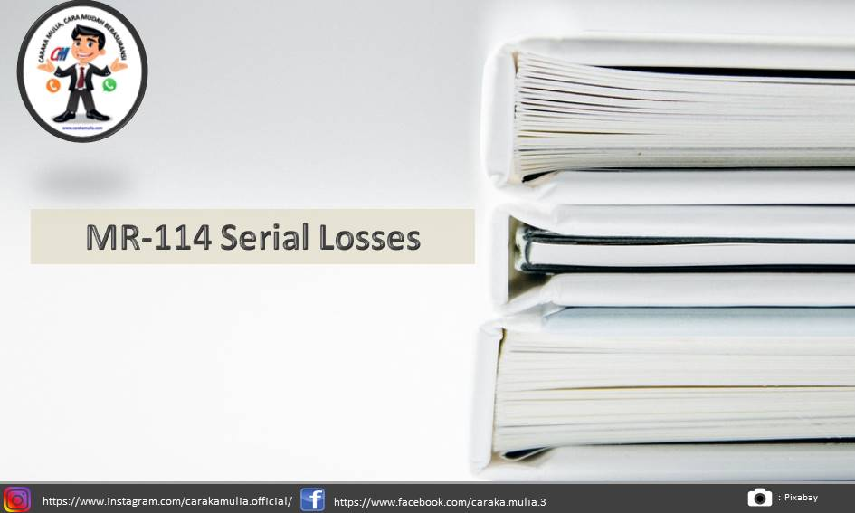 MR-114 Serial Losses