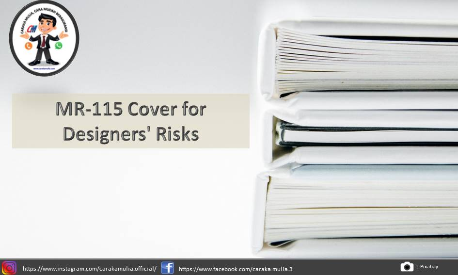 MR-115 Cover for Designers' Risks