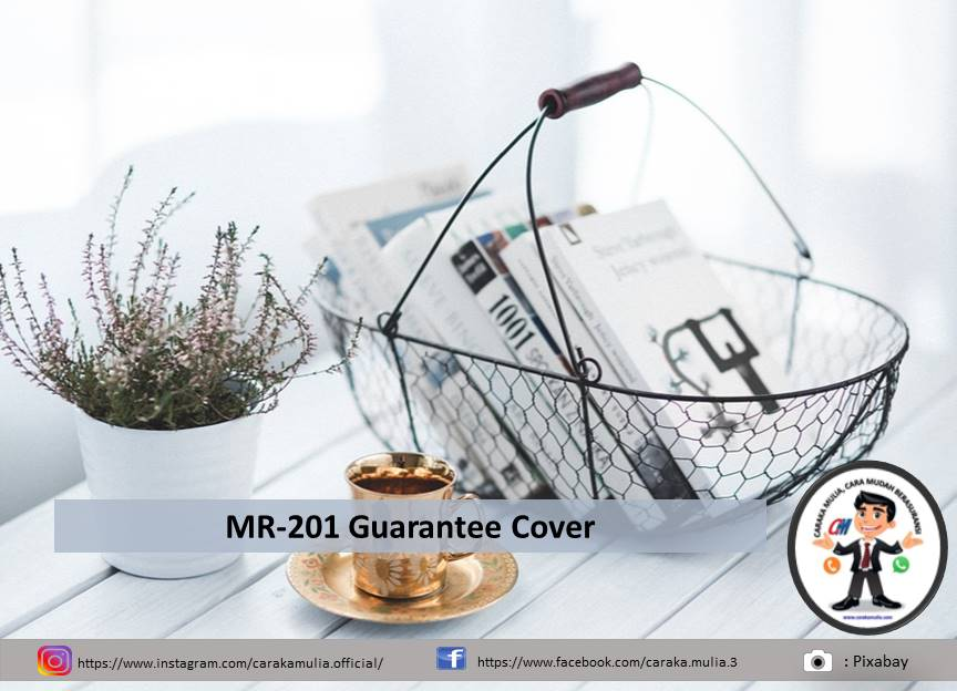 MR-201 Guarantee Cover