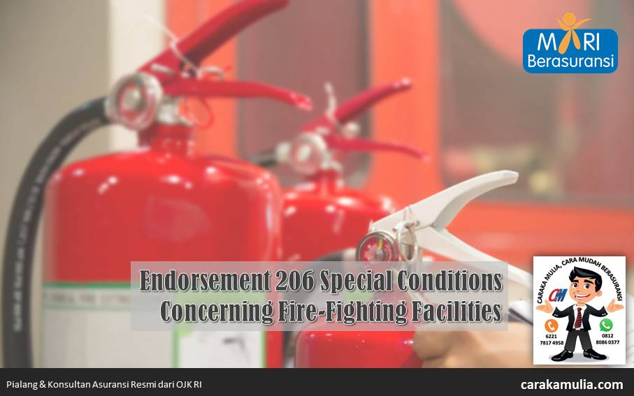 MR-206 Special Conditions Concerning Fire-Fighting Facilities