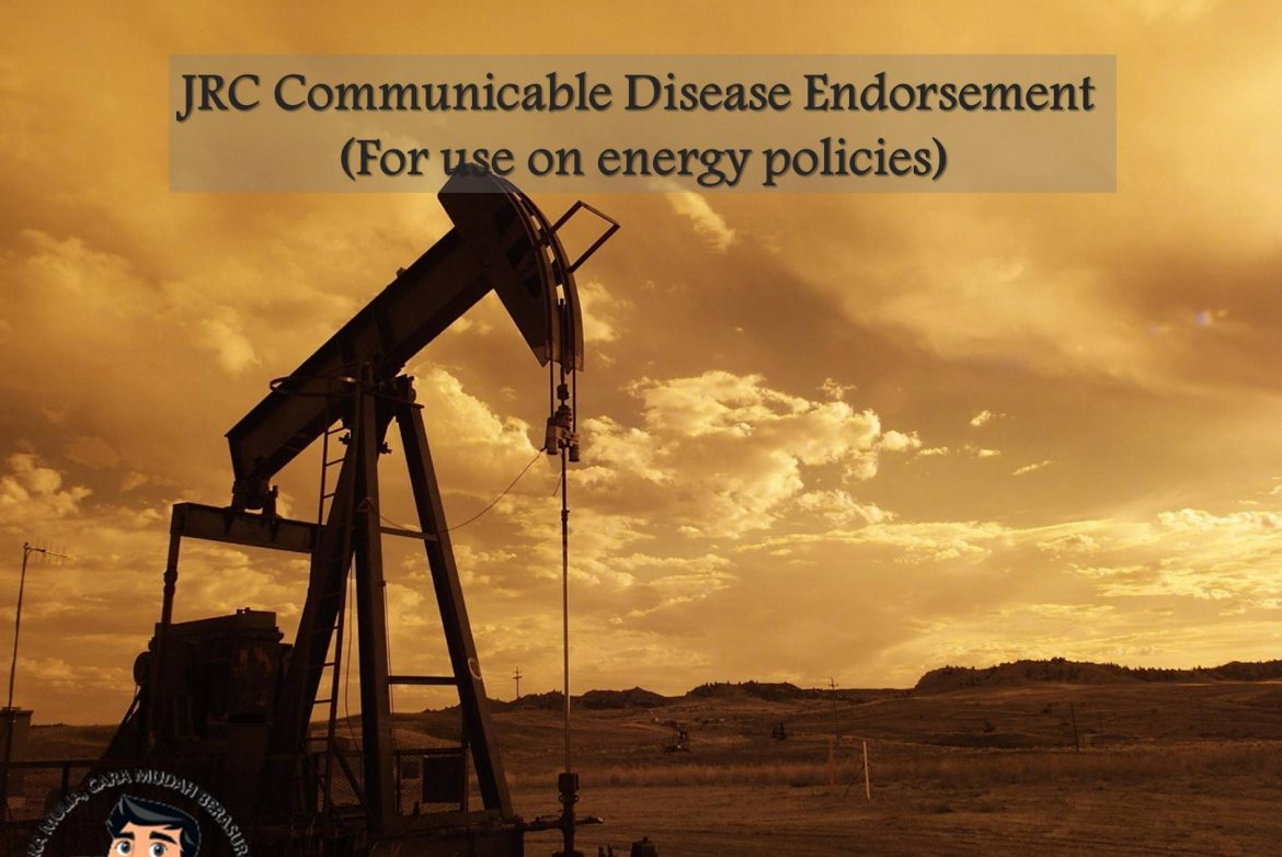 JRC Communicable Disease Endorsement (For use on energy policies)