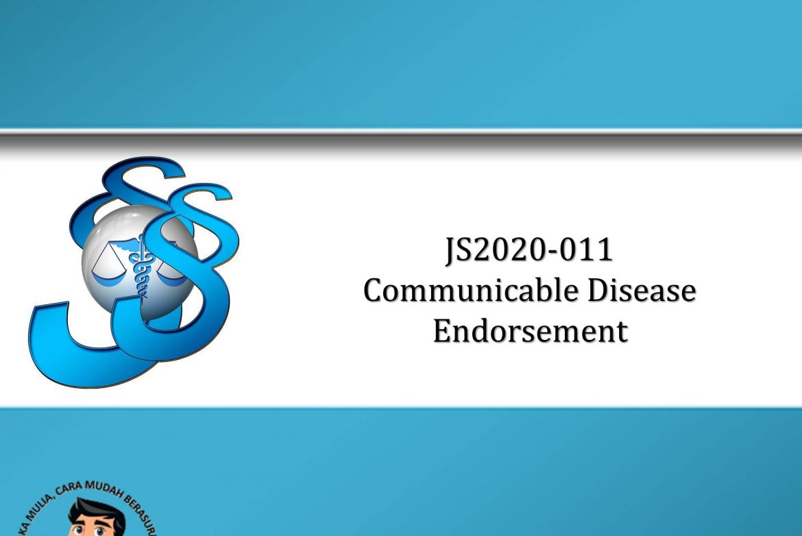 JS2020-011 Communicable Disease Endorsement