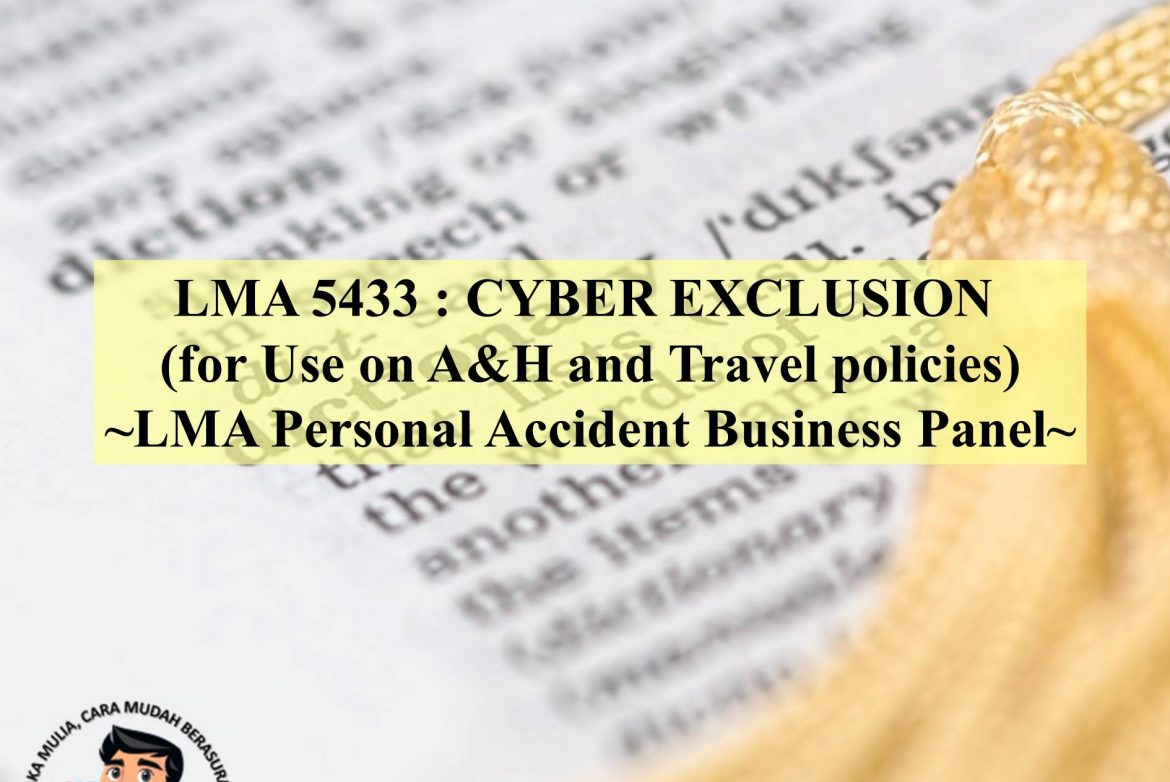 LMA 5433 - CYBER EXCLUSION