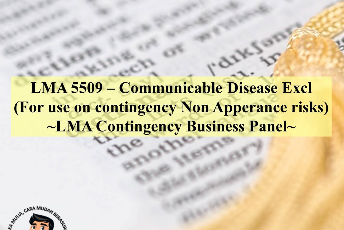 LMA 5509 Communicable Disease Excl